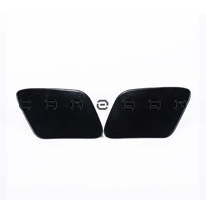 For 2002-2005 Audi A4 B6 1Pair Unpainted Headlight Washer Cover Left & Right Side Black 8E0955276D A0045+A0046(China (Mainland))