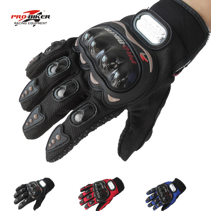 Pro-biker gloves men full finger motorcycle mesh gloves motocicleta racing motorcycle summer luvas motocross guantes M L XL XXL(China (Mainland))