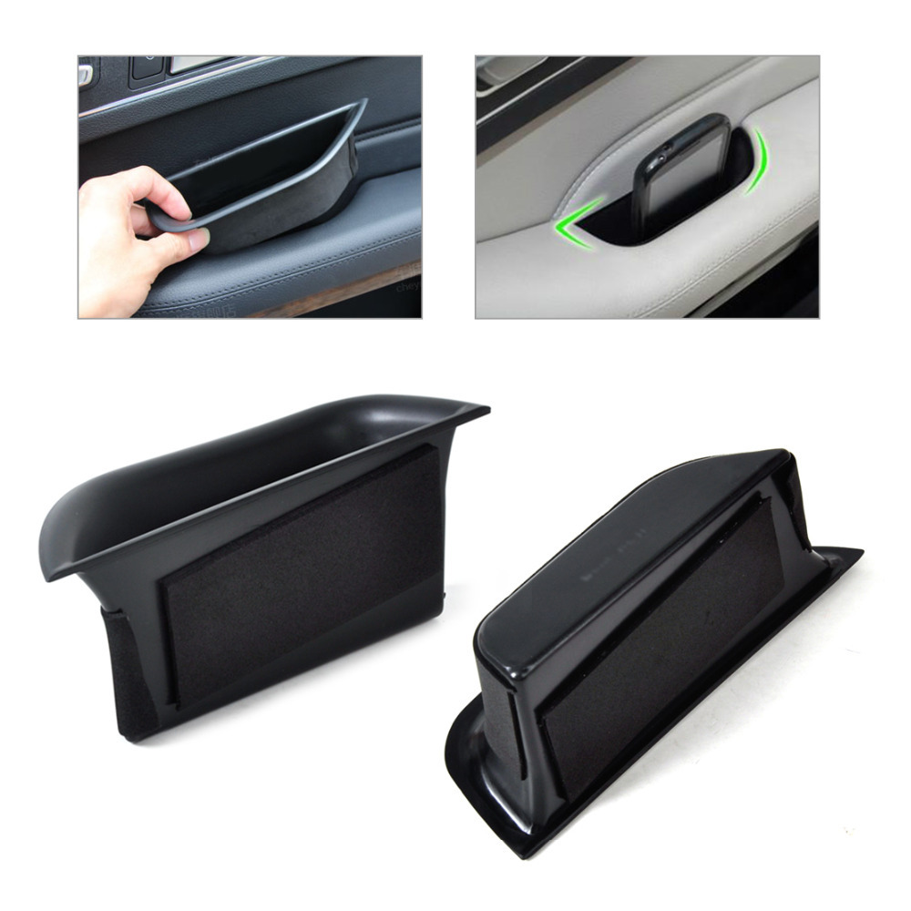 Tracking BrandNew ABS Plastic 2Pcs Rear Door Armrest Storage Box Container Holder For Benz W212 E Class 2010 2011 2012 2013 2014(China (Mainland))