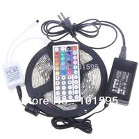 Светодиодная лента Haokey RGB LED 3528 SMD + 24key + 12V 2A 3528 RGB led strip