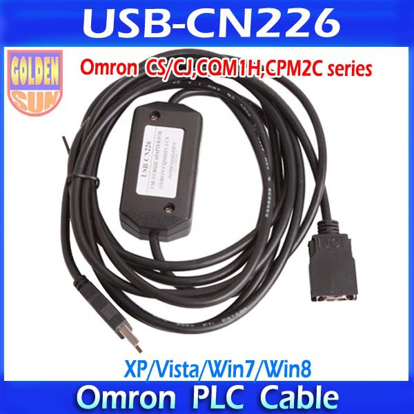 Провод USB-CN226 USB/CN226 PLC PLC CN226 USB RS232 Omron CS/CJ, CQM1H, CPM2C PLC Win7 new original ap 232bd plc rs232 expansion card
