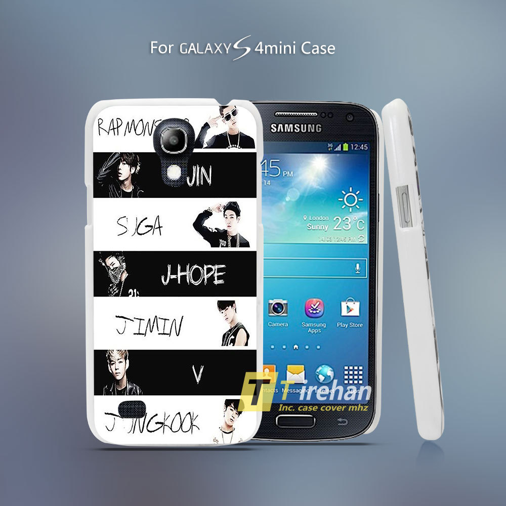 Boys Jeon Style Hard White Plastic Case Cover for Samsung Galaxy S3 ...