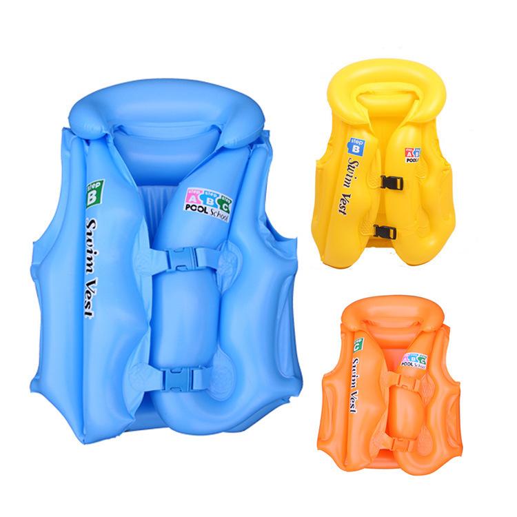 Lifejacket Cartoon Life Jacket Vest Kids Life Jacket Inflatable Baby Life Vest Kids Baby Swimming Vest Clothing 2015 Kid Jacket(China (Mainland))