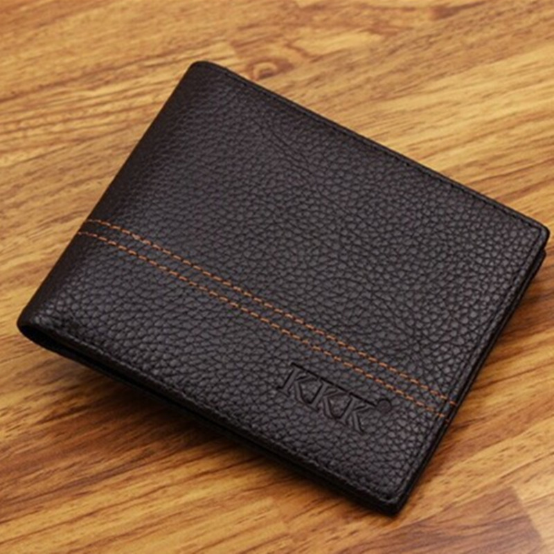 Hot!Fashion Wallets For Men New Design Genuine Leather Top Purse Men Wallet With Coin Bag Wholesale Free Shipping N026<br><br>Aliexpress