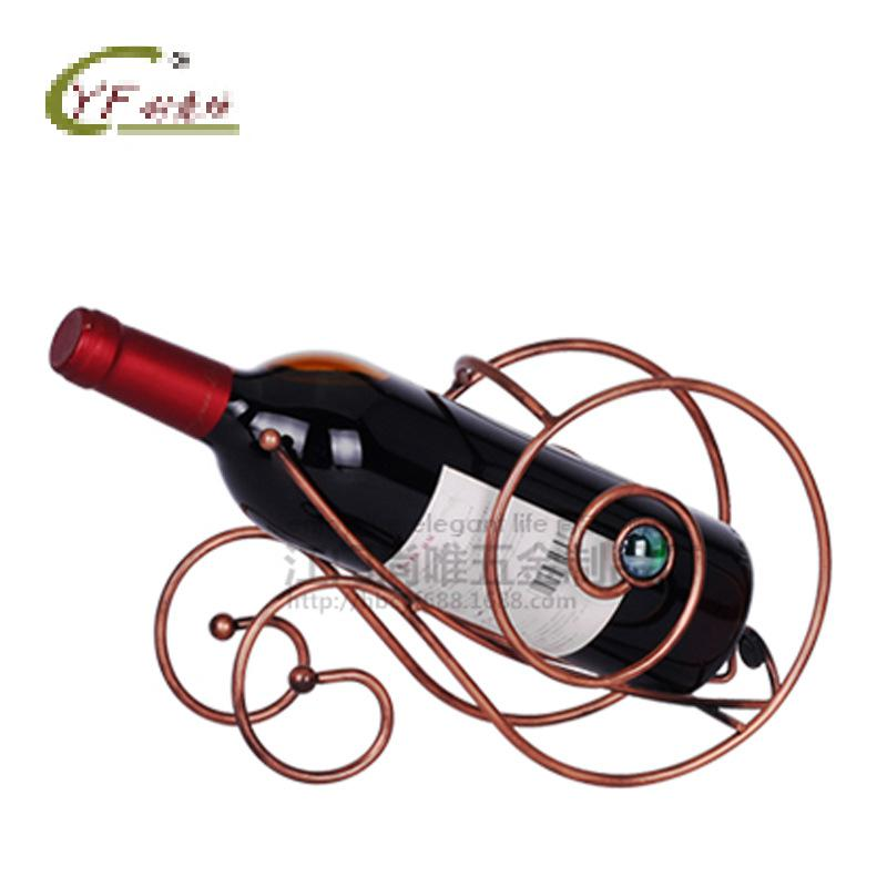 New Creative Snail Wine Holder European Iron Wine Rack Home Furnishing Supplies Wholesale Promotional Gifts 36pcs(China (Mainland))