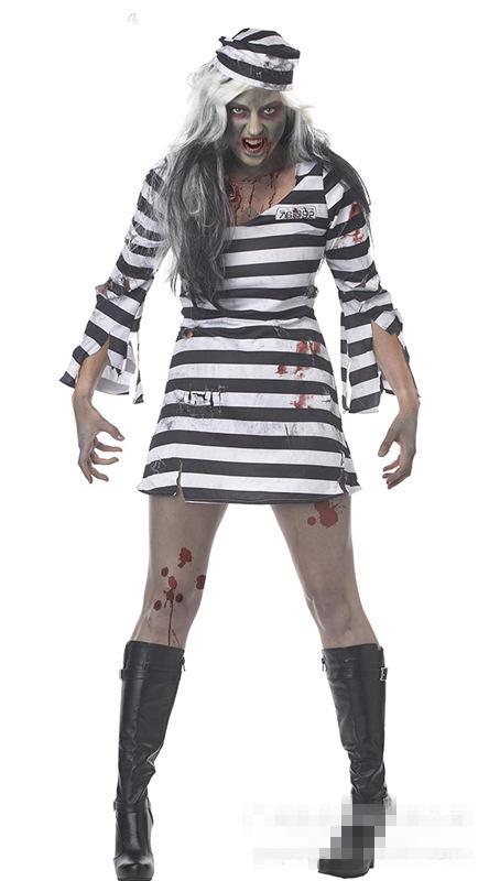 Halloween Costume Black And White Stripes Black And White Stripe
