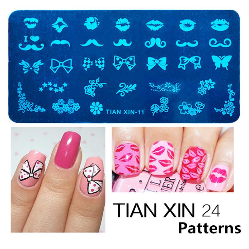 Stamping Nail Art Steel Konad Plates Stamp Manicure ...