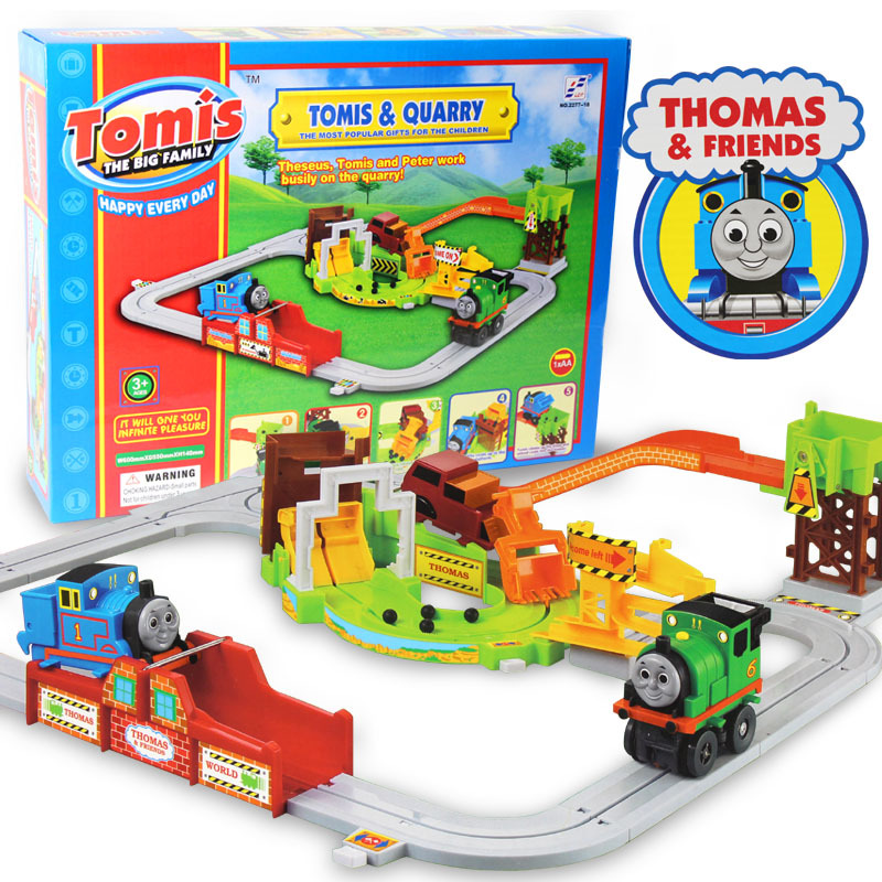 thomas battery oaperated children 39 s electric plastic tail train track toys set for kids. Black Bedroom Furniture Sets. Home Design Ideas