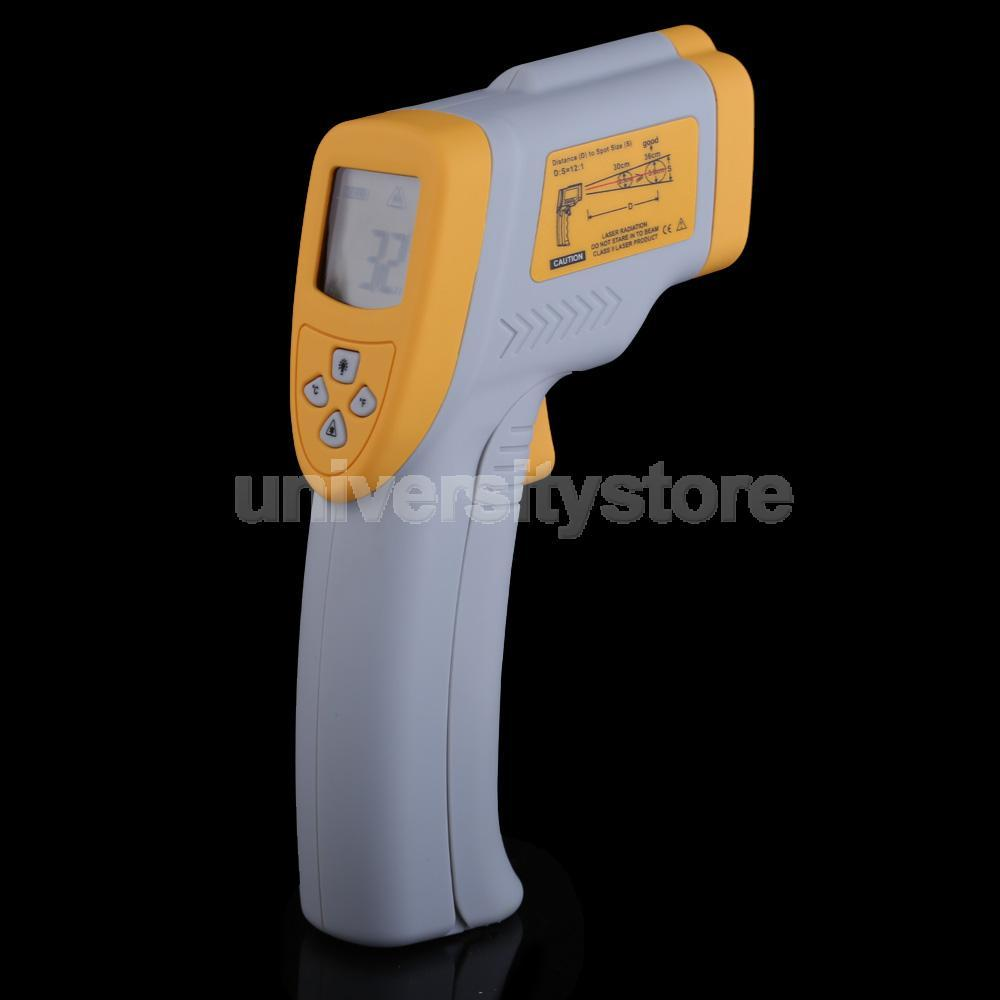 Digital Infrared Thermometer Temperature Measuring Gun Backlight DT8650 CA1T(China (Mainland))