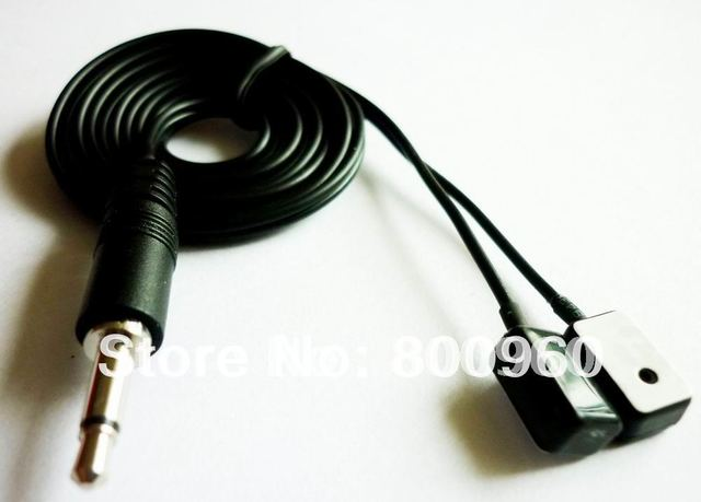 Free Post!IR infrared remote control receiver extender Cable 3M New IR Blaster/Emitter Wire For IR system 20pcs/lot