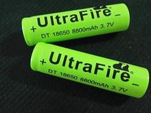 1 pcs /lot 18650 battery 3.7V li-ion Battery rechargeable Battery  8800mAh   free shipping
