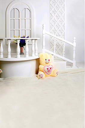 600CM*300CM backgrounds Winnie the stairs bouquet flowerpot photography backdrops photo LK 1499<br><br>Aliexpress