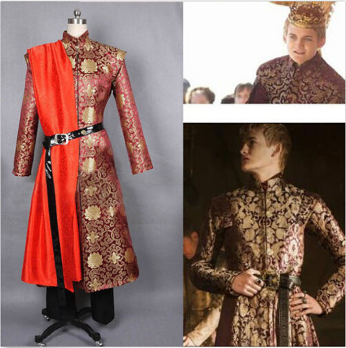 Custom Made Game of Thrones King Joffery Outfit Uniform Cosplay Costume HalloweenОдежда и ак�е��уары<br><br><br>Aliexpress