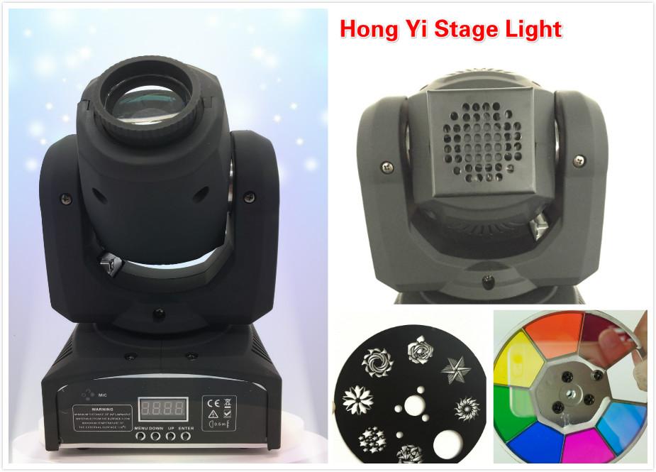 Flight case with DMX 512 8pcs/lot 30W led mini Moving Head Light sport DJ Party Disco led mini light(China (Mainland))