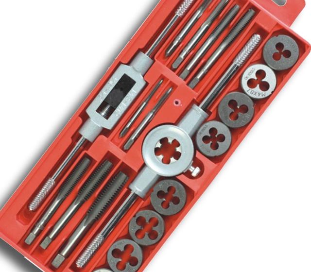Фотография 20 Set tapping wrench tap die Set Hardware Tools