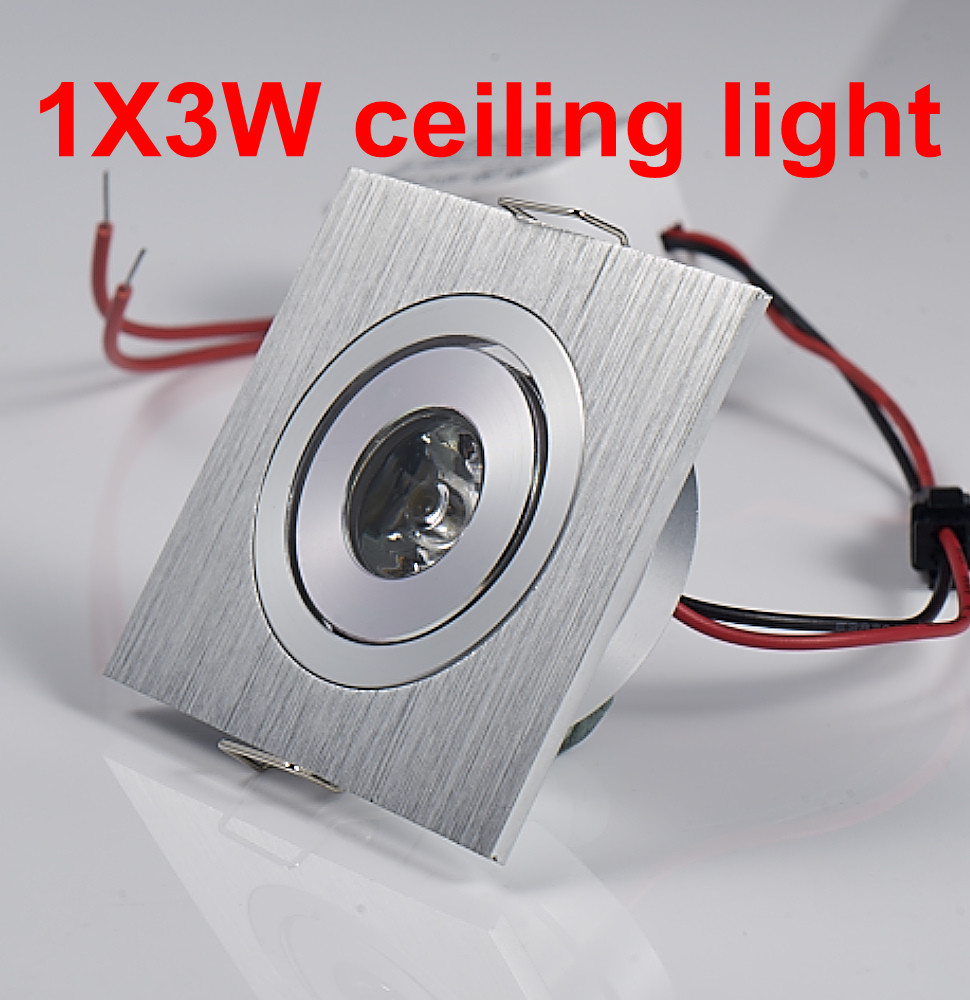 1w 3w white warm white mini led ceiling down lights led