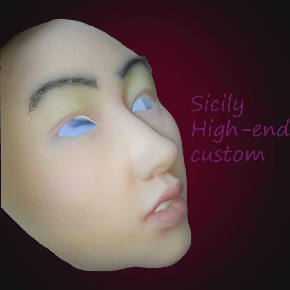 Masks of real faces: real face masks in latex & foam latex ...