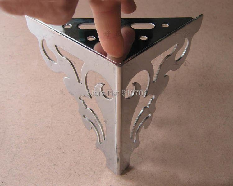 "4.7"" 120mm Set Metal Furniture Cabinet Legs Bed Tea Table Chair Sofa Leg Feet 4pcs(China (Mainland))"