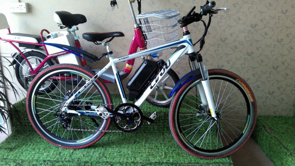 The New 26 Inch Mountain China Electric Bicycle 48V ...