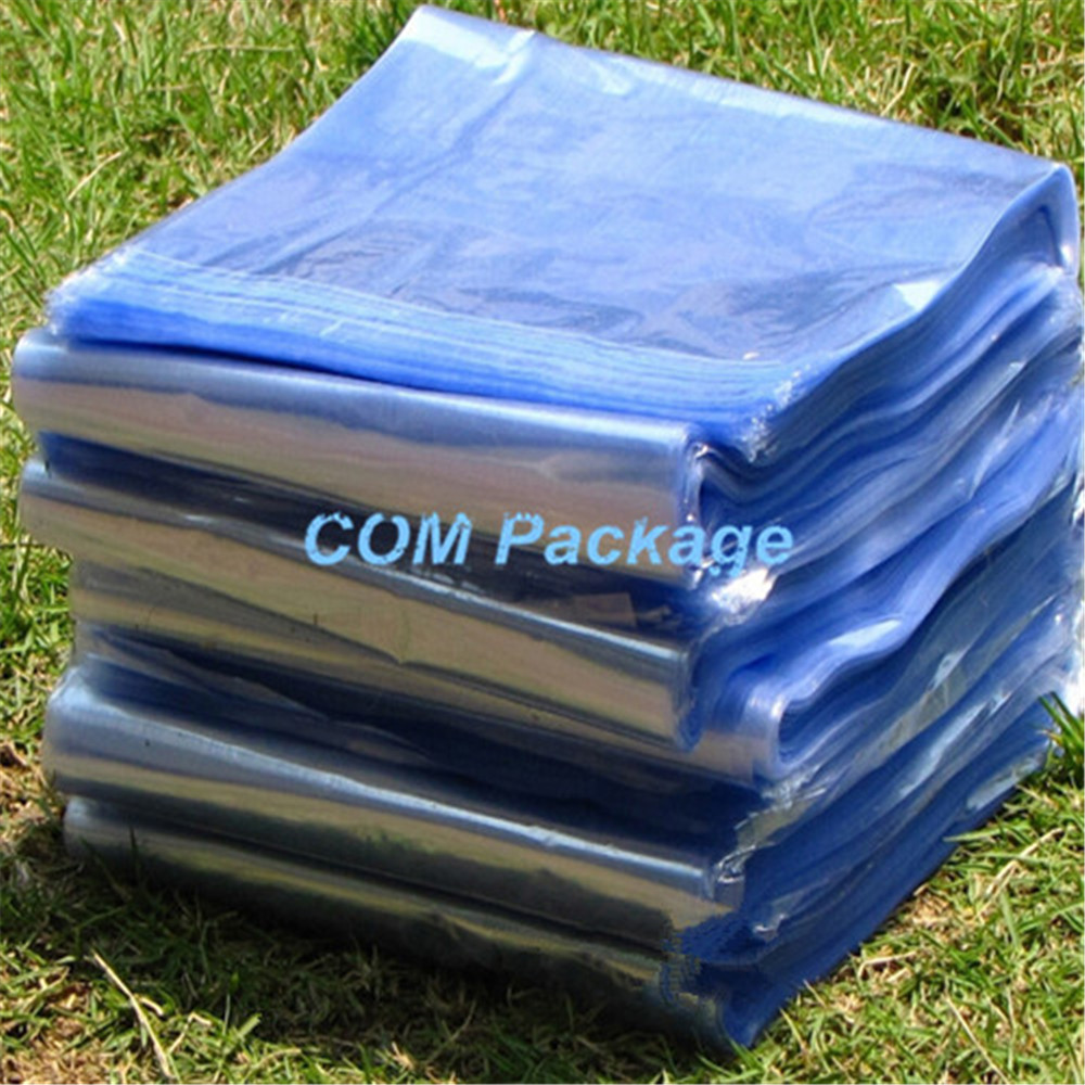 11*15cm Heat Shrink Bag Film Wrap Clear PVC Heat Seal Party Bag Retail Plastic Package Polybag Pouch Cosmetics Gifts Packaging(China (Mainland))