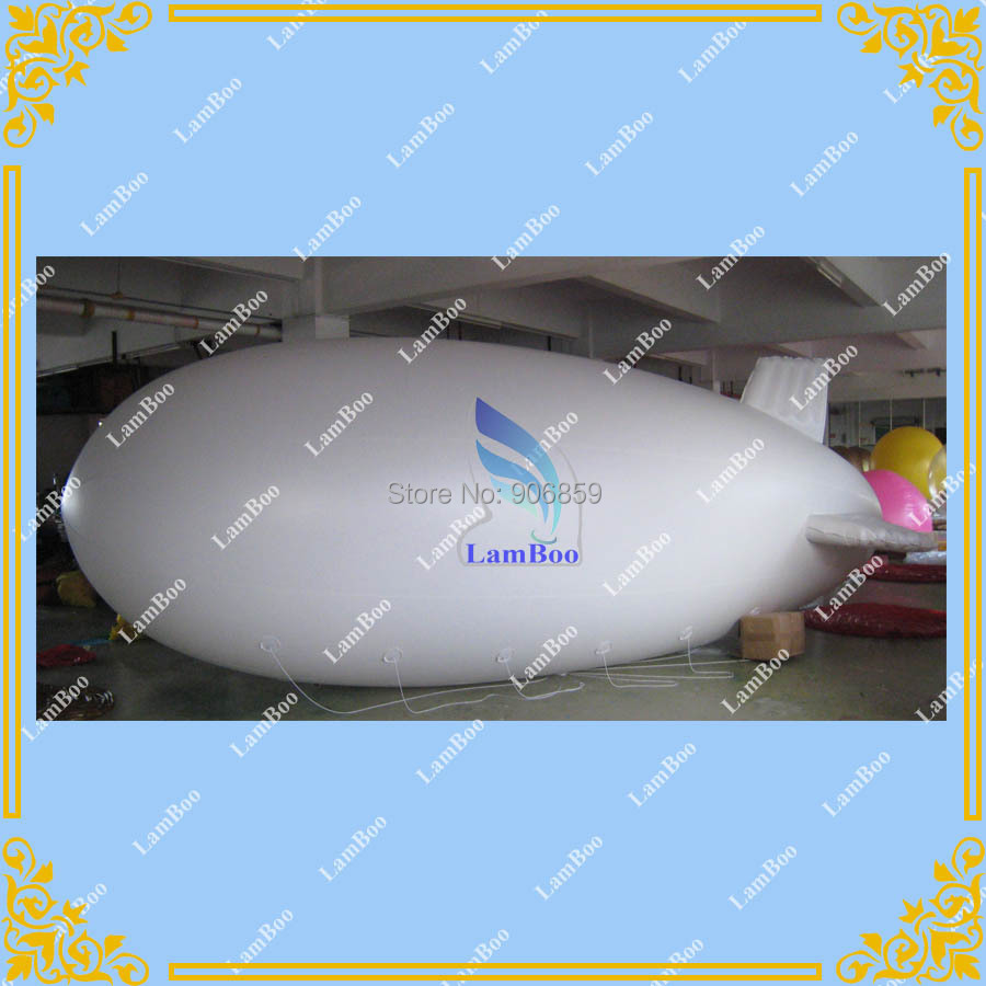 8m/26ft Inflatable Advertising Zeppelin / Blimp / Airship for Different Events by DHL Fast Shipping(China (Mainland))