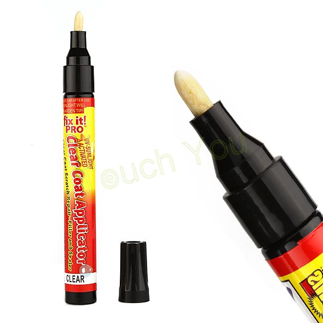 Универсальная автомобильная скреста крышка снимите ремонт покраска ручки перманентный водостойкой работает на всех цветов Fix It Pro ясно