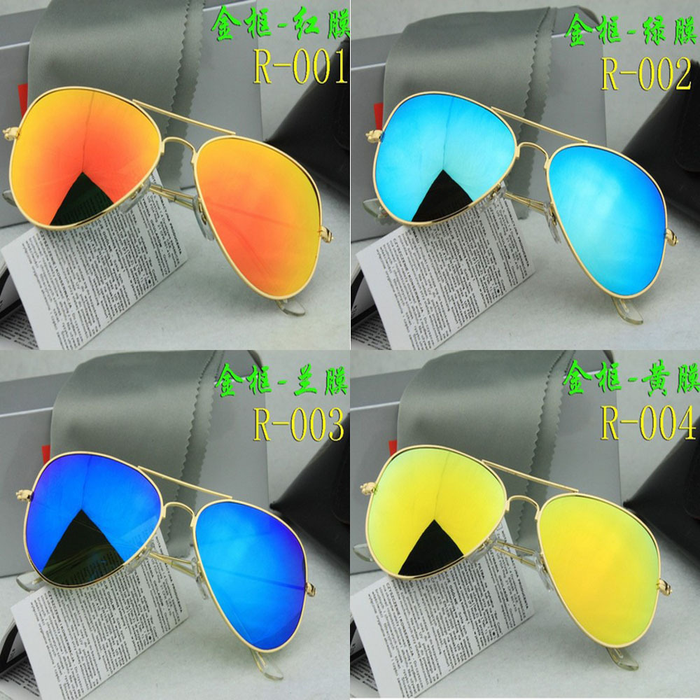 1:1 Top Quality G15 Lens Ray a Men Women Aaviator 3025 RB Sunglasses Brand Pilot 3026 Sun Glasses Gafas Oculos De Sol Feminino(China (Mainland))