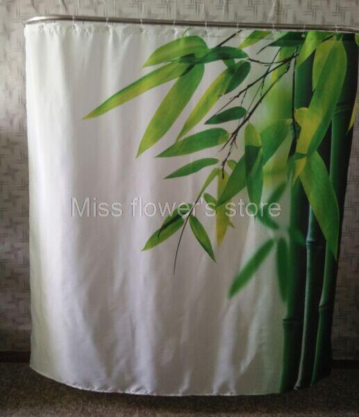 Tegels Badkamer Afkitten ~ blad ontwerp douchegordijn badkamer mildewproof waterdicht polyester