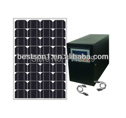200w 300w solar power system (off-grid),solar energy collection and storage solar panel system for home use solar pv systems(China (Mainland))