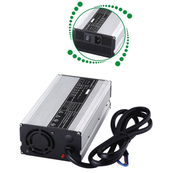Free Shipping 54.6v 10a lithium battery Charger 48V 10A smart charger Superior performance(China (Mainland))