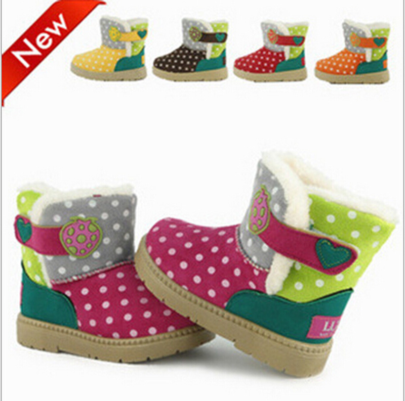 Cute Baby Gifts For Christmas : High quality baby girl snow boots warm waterproof