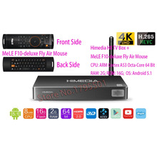 Buy HIMEDIA H8 Octa Core Android TV Box 2GB/16GB 3D 4K UHD Home TV Network Media Player + MeLE F10-deluxe Fly Air Mouse for $79.99 in AliExpress store