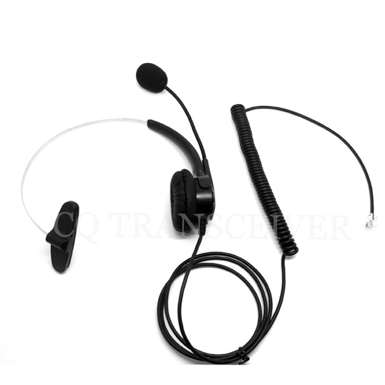 CQtransceiver Call Center Phone Systems Mono Headset RJ9 Plug for POLYCOM IP Telephone IP300 IP301 IP430(China (Mainland))