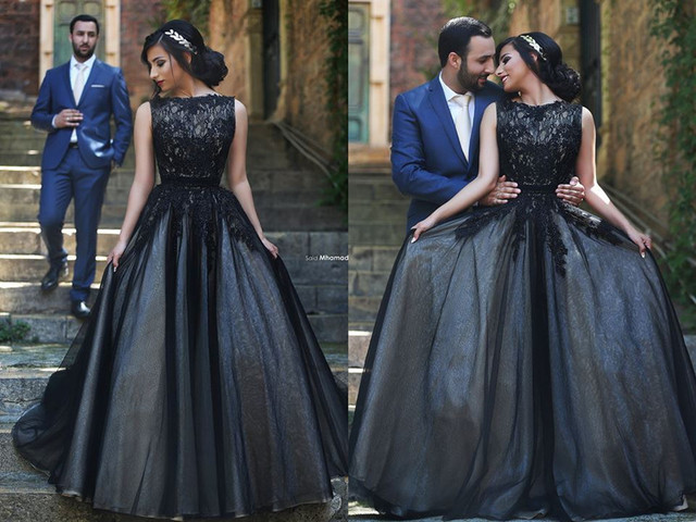 Свадебные платья casamento черный шар платье кап-рукава свадебное платье с кружевными аппликациями свадебные платья невесты платье свадебные платья Noiva
