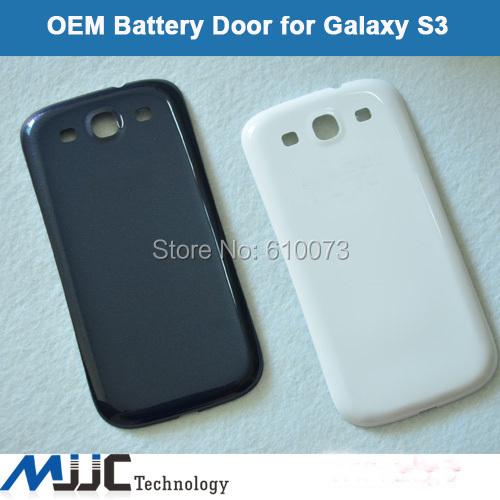 Original Back Cover Rear Door for S3 i9300 Back Battery Case Door Back Cover Battery Housing Cover Black White Blue 10PCS/Lot