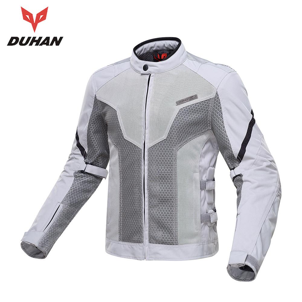 New DUHAN Short Summer Motorcycle Jacket Motocross Off-Road Racing Jacket Knight Riding Motorcycle Protective Armor Jacket(China (Mainland))