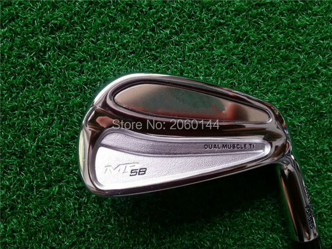 Brand New MP-58 Iron Set MP-58 Golf Forged Irons MP-58 Golf Clubs 3-9Pw(8PCS) Regular/Stiff Flex Steel Shaft With Head Cover(China (Mainland))