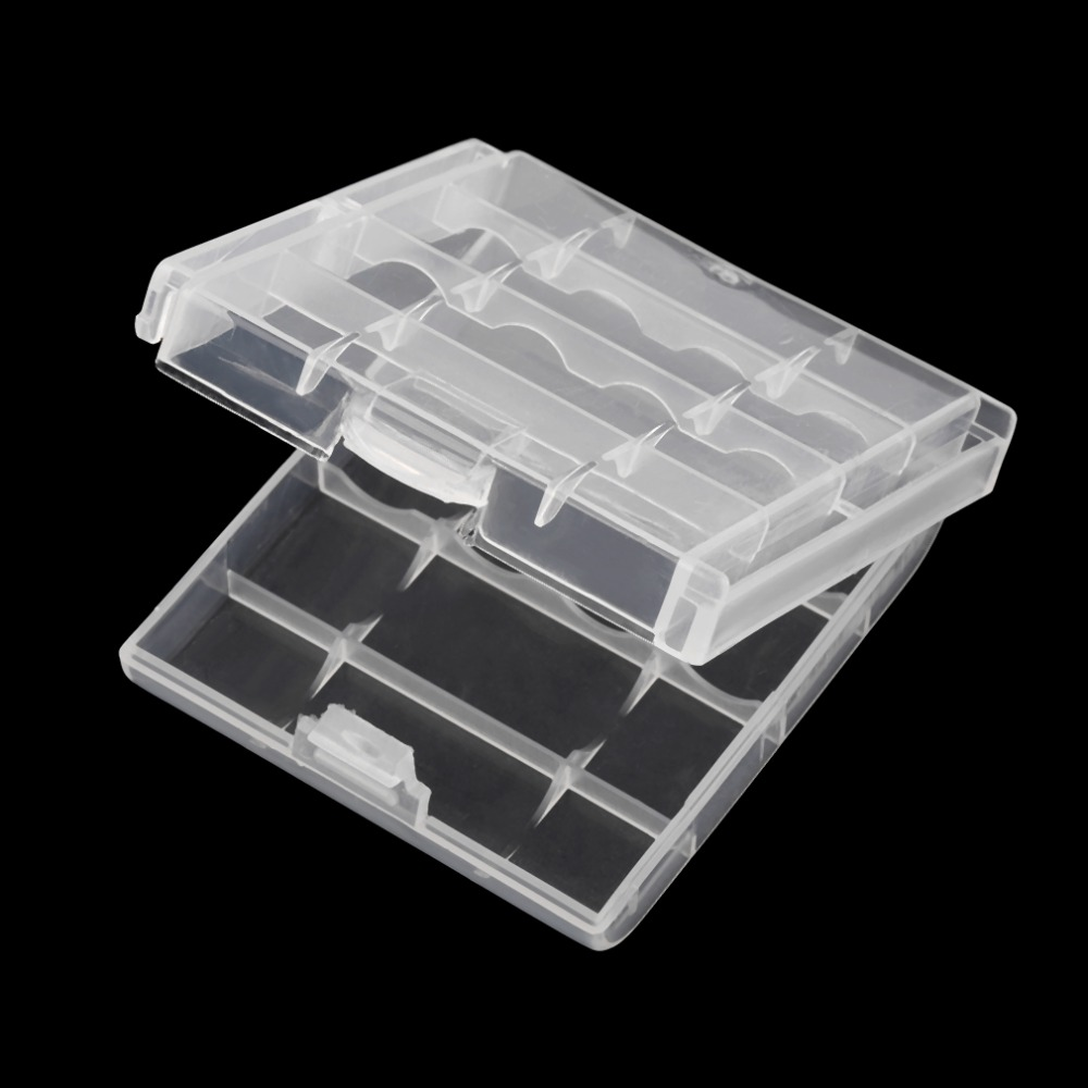 New Arrival Hard Plastic Case Cover Holder for AA / AAA Battery Storage Box <br><br>Aliexpress