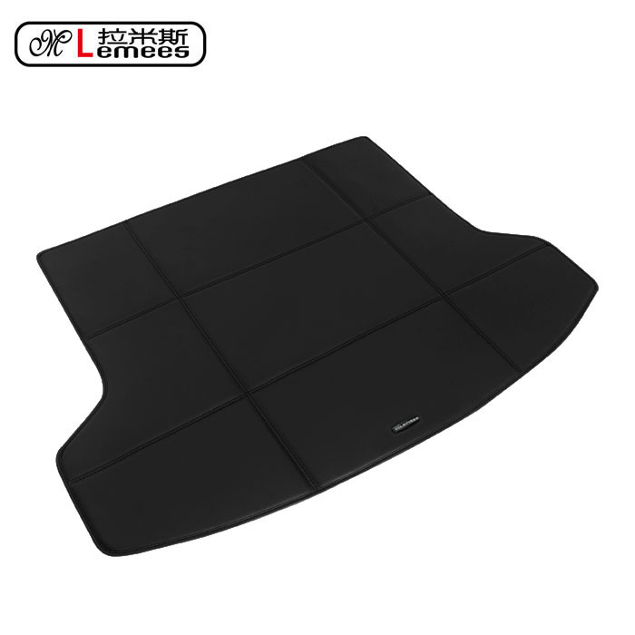 wateproof non slip car trunk mats for Renault Koleos Fiat in high class PU leather(China (Mainland))