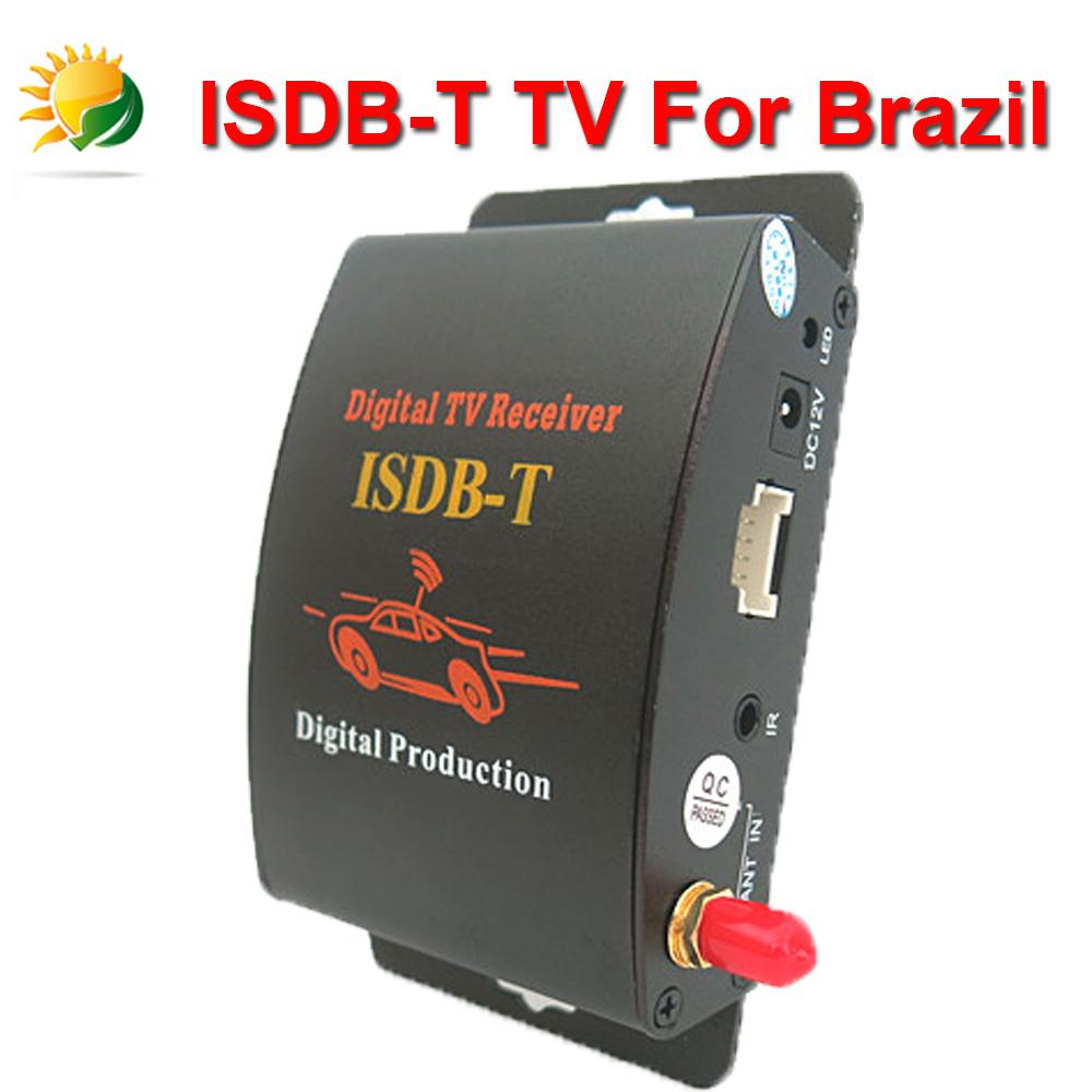 Car ISDB-T One Seg TV Turner Car ISDB-T Mobile Digital TV Receiver For Brazil / South America Car Digital TV Tuner Japan(China (Mainland))