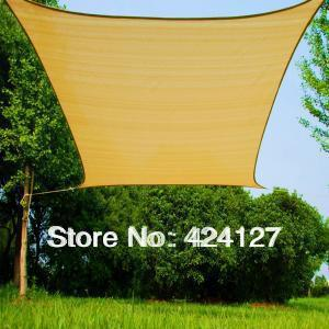 3mx3m square shade net