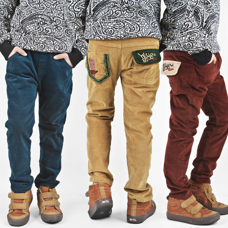 Boys Cord Trousers