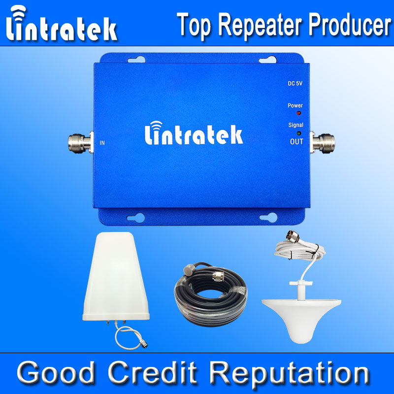 Lintratek Verizon Cell Phones HSPA 850 1900MHz 2G 3G Dual Band Signal Booster GSM850 UMTS1900 Cell Phone Amplifier Full Kit F22(China (Mainland))