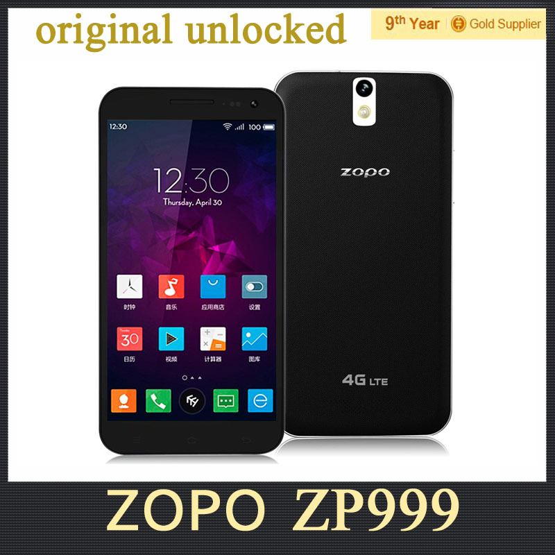 "ZOPO ZP999 Cell Phone Original ZOPO ZP 3X ZP3X 5.5"" inch 3G 4G FDD LTE MTK6595M Octa Core 3GB RAM 14MP OTG NFC Android 4.4(Hong Kong)"