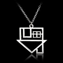 Fashion Jewelry Black Veil Brides Rock Music BVB Logo Pendant Necklace Women Accessories Vintage Rock Band House Choker Necklace(China (Mainland))