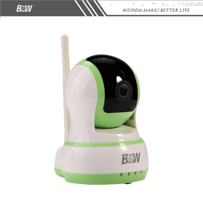 IP Camera Wifi Wireless Mini Camera CCTV Baby Monitor Security Micro TF Card Camera IOS Android APP Remote Control BWIPC013GR(China (Mainland))