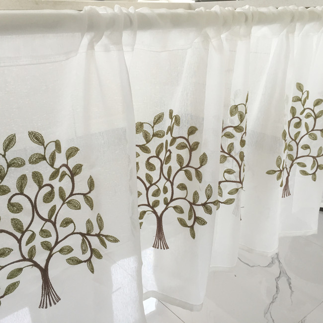 Compra cortinas de encaje para la cocina online al por - Venta de cortinas online ...