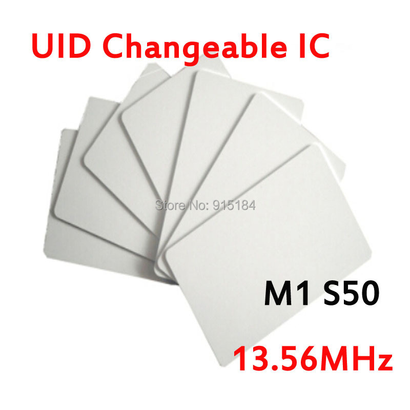 UID Changeable smart Card RFID 13.56MHz ISO14443A Block 0 sector zero writable Copy Clone MF1 1K S50 support Libnfc NFC Cracker(China (Mainland))