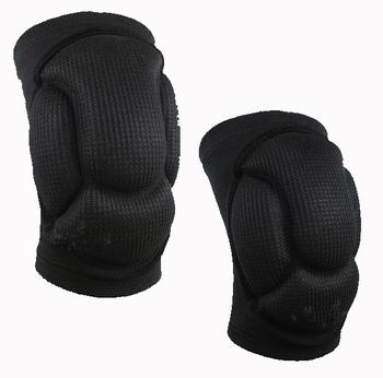 High quality fashion black sports outdoor football basketball volleyball knee shin leg protector guard pad kneepad leggings