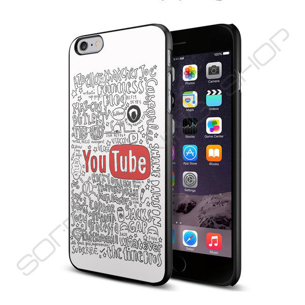 THE YOUTUBERS COLLAGE QUOTES Case For LG G2 3 4 HTC M7 8 9 For IPhone 5s 6 Plus Samsung 5 6 Mini Note 3 4 IPod 5 DIY Design(China (Mainland))